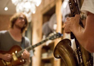Aidan Funston and Declan Funston live at Leuk Huis. Photo: Will Skol