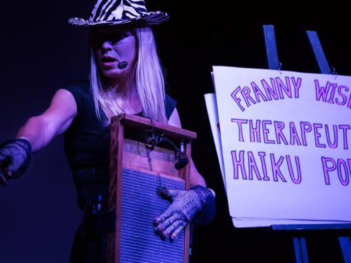 Photo Highlights – Franny Wisp and Her Washboard at Simcoe Street Theatre