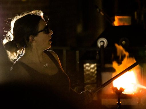 Photo Highlights – Glassblowing with Infinite Glassworks outside 77 Simcoe